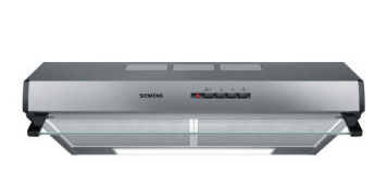 Siemens LU63LCC50 Eingebaut Edelstahl 350m³-h D Dunstabzugshaube