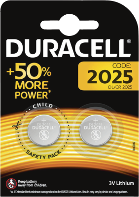 Duracell Knopfzelle 2025