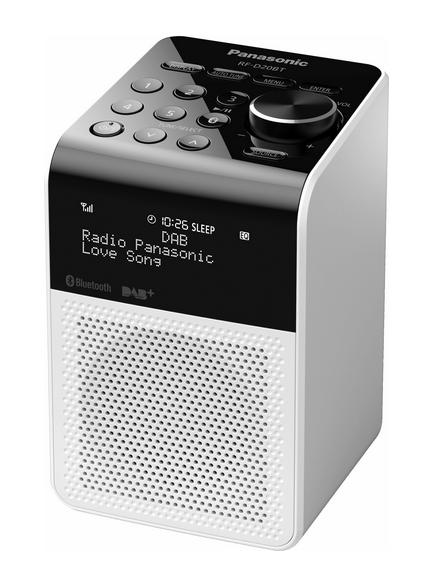 Panasonic RF-D20BT Persönlich Digital Weiß Radio