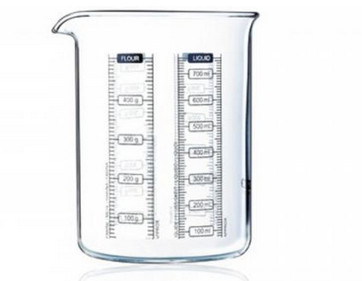 Pyrex Messbecher, 0.75 l, Glas, 7070.54130