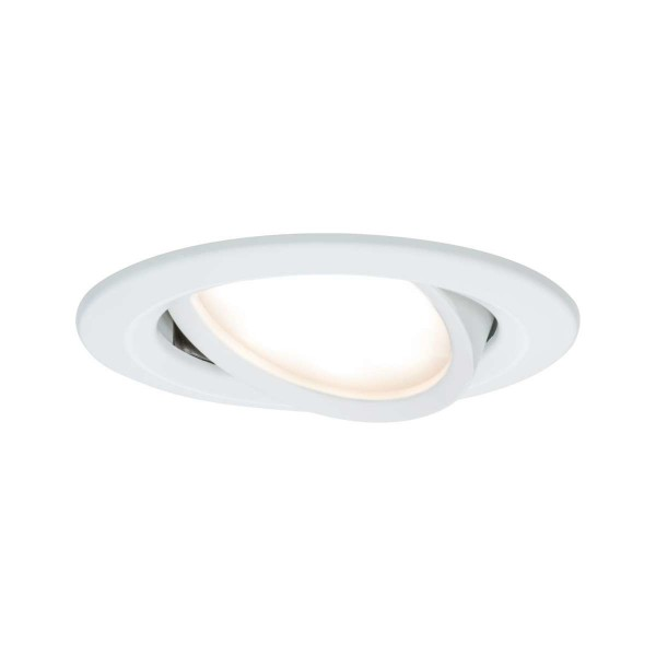 Paulmann LED 1x68W Ws Prem EBL Coin Slim rd schw