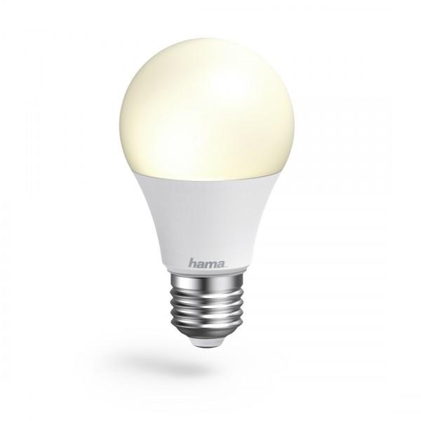 Hama WiFi-LED-Lampe, 00176547, E27, 10W, RGB, dimmbar