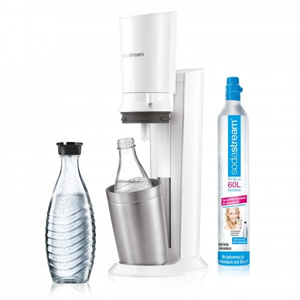 Sodastream Trinkwassersprudler, Crystal 2.0, weiß