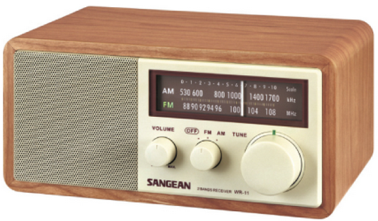 Sangean , ATR-01, UKW MW Radio, Walnuss AustriaEdition