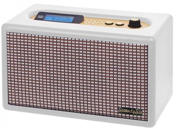 Trevi Radio mit Bluetooth, DS1976, weiß