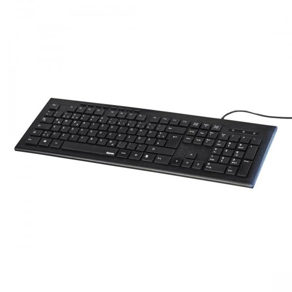Hama Multimedia-Tastatur 00182663