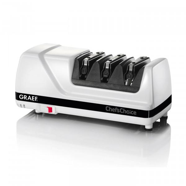 Graef CC 150 Messerschärfer, schwarz, weiß