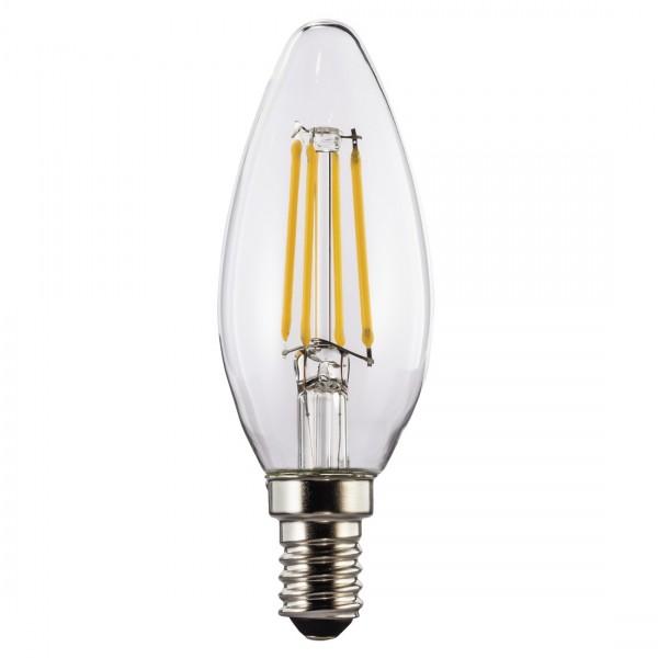 Hama LED-Lampe, 112554, E14, 470lm - ersetzt 40W Kerzenlampe, warmweiß