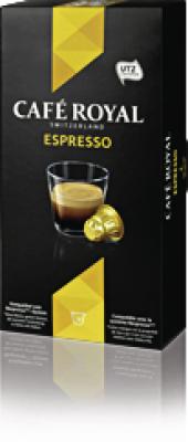 Cremesso Kaffeekapsel,Cafe Royal Espresso Karton Nespressokompartibel, Karton