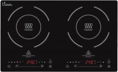 Bkitchen cook 420 , Doppel Induktionskochplatte, nur 4,6cm,Sliding Control,