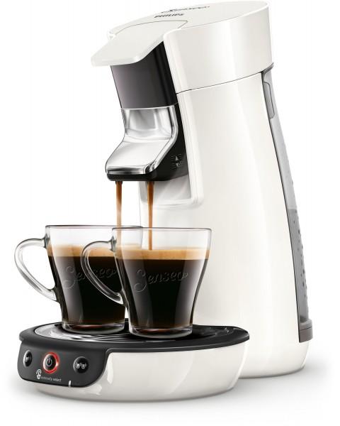 Philips HD6563 00 Senseo NEW Viva Café mit Kaffee-Boost, Crema Plus und Stärkewahl sowie Kalkindikat