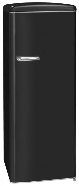 Exquisit Cooler RKS325-16RVA++MS, mattschwarz,
