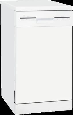 Exquisit GSP 9109.1 Stand-Geschirrspüler, 6 Spülprogramme, 45cm, A++