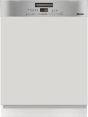 Miele Geschirrspüler G5000SCiCLST Einbau Teilintegriert 60cm