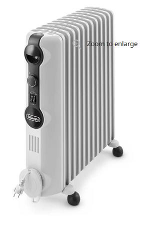 DeLonghi Radiator, TRRS 1225C weiß, 2500W