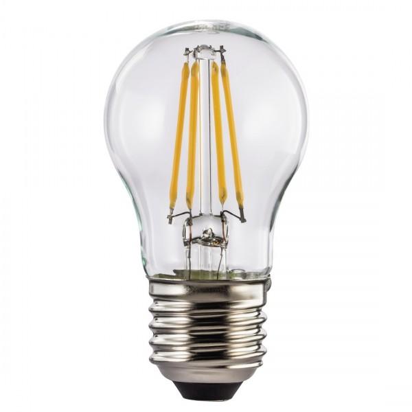 Hama LED-Filament, 112557, E27, 470lm - ersetzt 40W Tropfenlampe, warmweiß