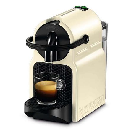 DeLonghi EN80CW Freistehend Halbautomatisch Pad-Kaffeemaschine 0.8l 10Tassen Cremefarben Kaffeemasch