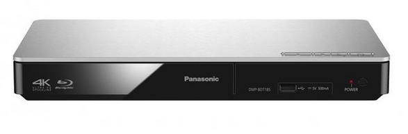 Panasonic Blueray-Player, DMP-BDT185EG,