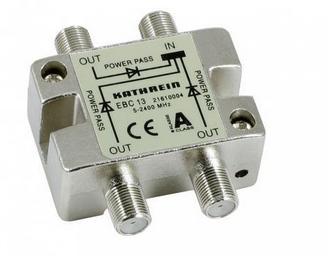Kathrein EBC 13 F 3xF Silber Kabelschnittstellen--adapter