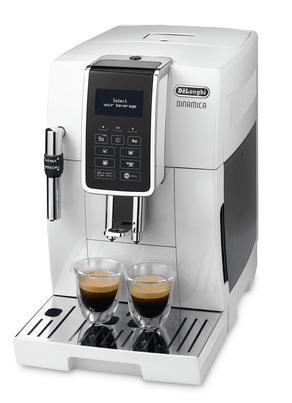 DeLonghi Dinamica Ecam 350.35.W Freistehend Vollautomatisch Espressomaschine 1.8l Weiß