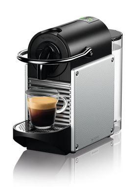 DeLonghi Nespresso Kapsel-Automat EN124.S Nespresso Pixie electric aluminium