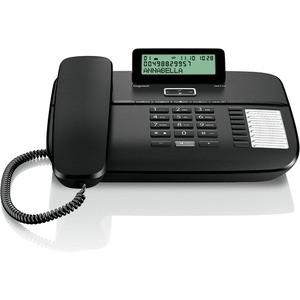 Gigaset Komforttelefon, DA710, schwarz