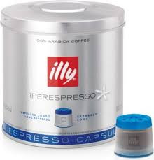 Illy Caffe Lungo-Dose, 7466, 21 Kapseln