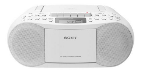 Sony CD-Radio CFDS70W, weiss