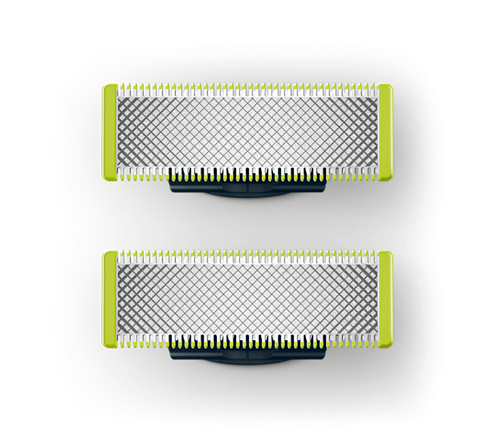 Philips Ersatzklingen, QP220-50, Oneblade, 2er Pack