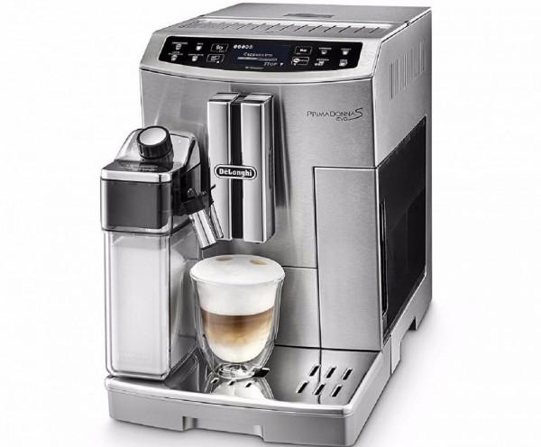 DeLonghi PRIMADONNA S EVO ECAM 510.55.M Freistehend Vollautomatisch Filterkaffeemaschine Silber