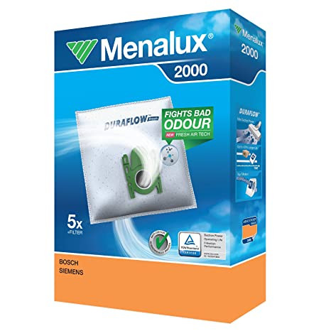 Menalux 2000 Staubbeutel für Bosch & Siemen