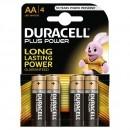 Duracell Batterie MN1500B4 Mignon 4er Bliste