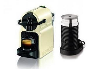 DeLonghi Inissia Freistehend Vollautomatisch Pad-Kaffeemaschine 0.7l Cremefarben