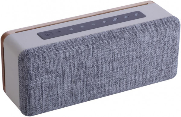 Nabo Multimedia-Lautsprecher, Style SC 300, Wireless Audio Speaker, wood