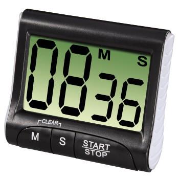 Hama Küchentimer Countdown digital Schwarz 00095304