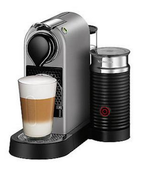 Turmix Nespresso TX275, Citiz&Milk silver