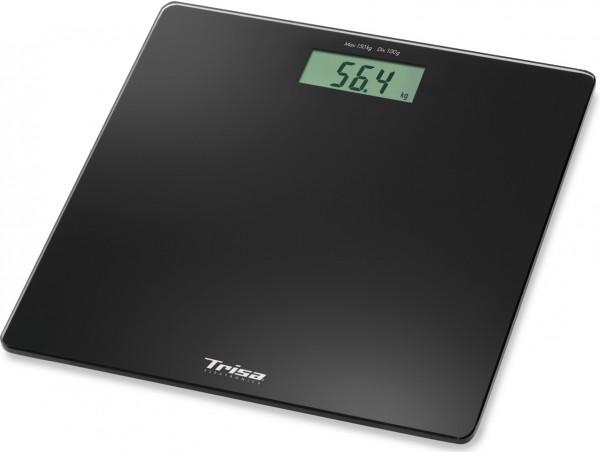 Trisa Personenwaage, 18584200, Perfect Weight, schwarz
