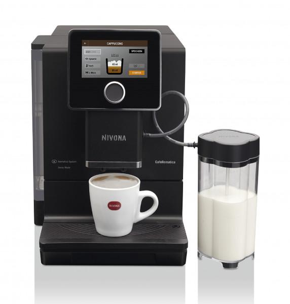 Nivona Espresso Kaffee-Vollautomat NICR960 CafeRomatica 960 mattschwarz