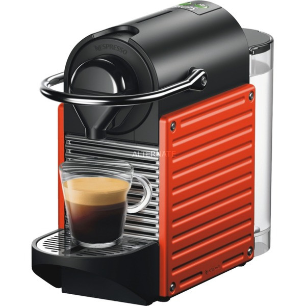 Krups Nespresso, XN3045 Pixie Electric Red,