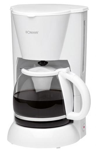 Bomann KA 183 CB Kaffeeautomat, weiß