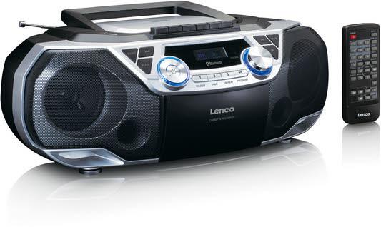 Lenco Radio mit CD-Player SCD 120 SI Bluetooth USB 2x 6 Watt