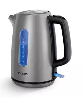 Philips Wasserkocher, HD9357-10, Edelstahl