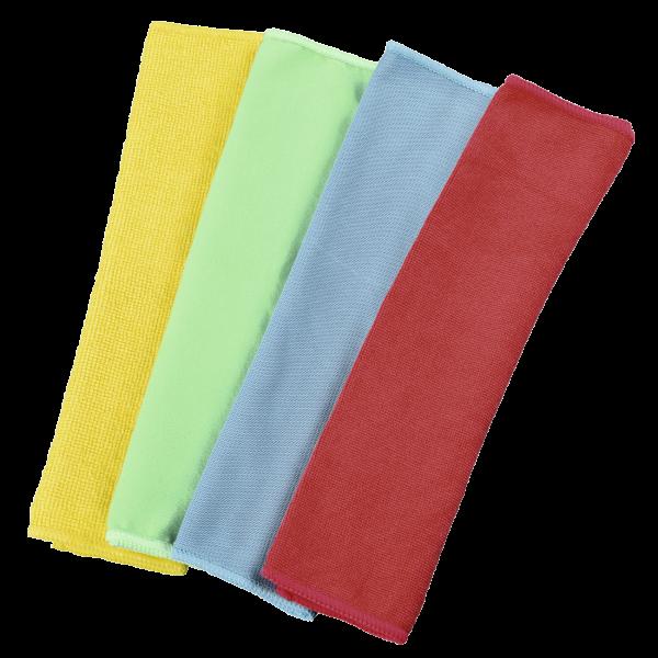 Hama Mikrofasertücher, 30x30cm, blau grün gelb rot