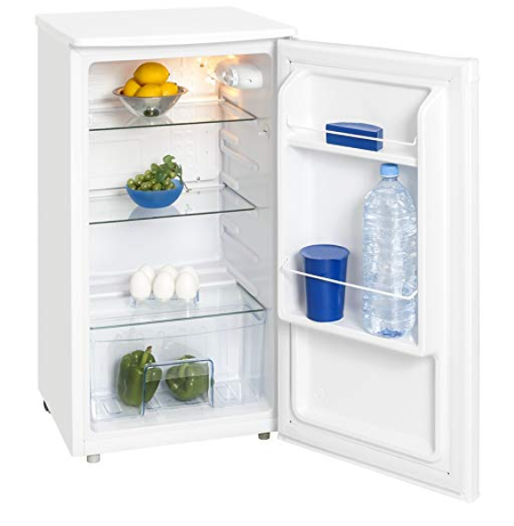 Exquisit KS 85-9 RV A+ Stand-Kühlschrank, 85 x 45 cm