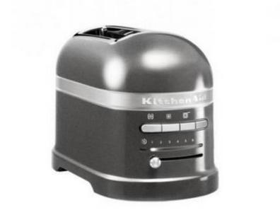 KitchenAid 5KMT2204EMS 2Scheibe(n) 1250, -W MEDALLION-SILBER Toaster