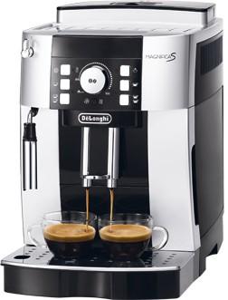 DeLonghi Espresso Kaffee-Vollautomat, ECAM21.110.SB, silber schwarz