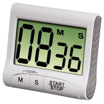 Hama Küchentimer Countdown digital Weiß 00111319