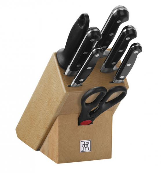 Zwilling Messerblock natur 8tlg. Proffesional S