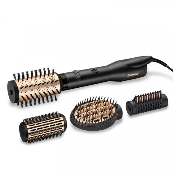 BaByliss Warmluftbürste Big Hair Lustre 50mm und 40mm Glättaufsatz , Paddle Brush NEU, AS970E