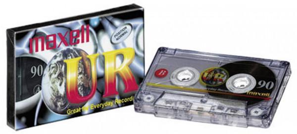 Maxell UR-90 Audio Cassette 90min 1Stück(e)